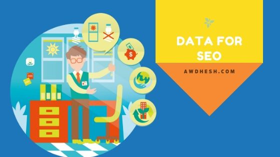analytical data for SEO